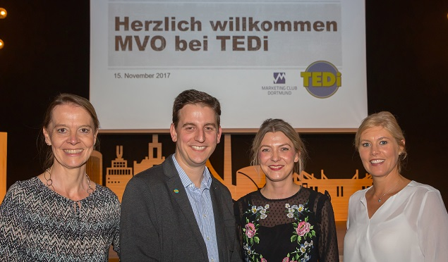 Marketing-Club Dortmund besuchte TEDi – Corporate Social Responsibility im Fokus